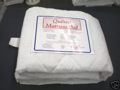 Super luxurious quilted fitted mattress cover for hardside waterbeds