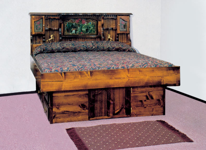 carolina rose hardside waterbed