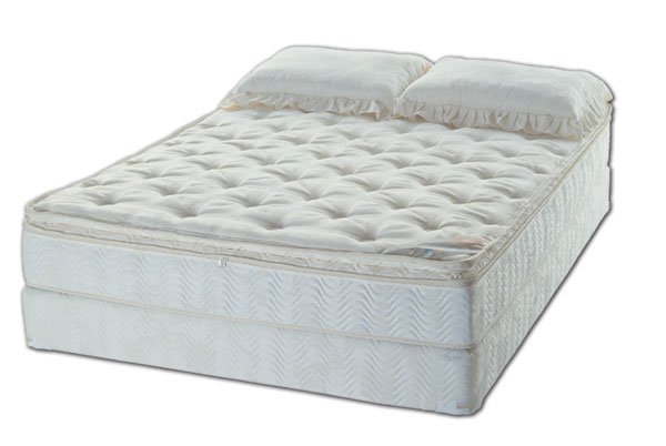 Pillowtop Softside Waterbed Mattress With Tubes