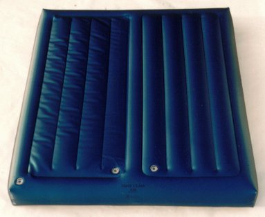 1995 dual air chamber for hardside waterbed frame