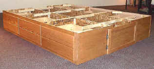 12 inch 6drawer base for waterbed